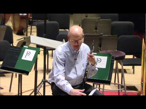 Principal Oboe Richard Woodhams - Rouse - Oboe Concerto