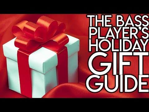 The Bass Player's Holiday Gift Guide | SpectreSoundStudios GIFT GUIDE