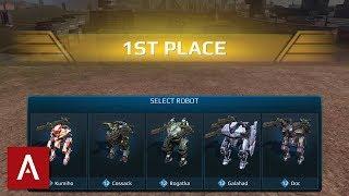 War Robots: 1 Shot 1 Kill New Skirmish Gameplay | My Cossack Hits GODLIKE!