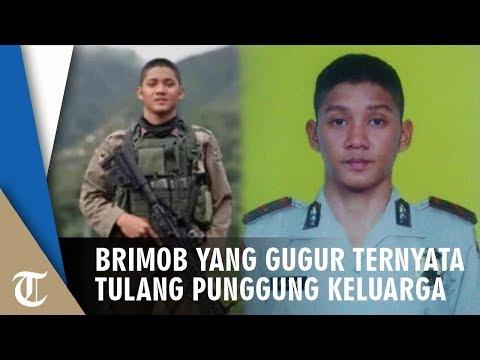 Anggota Brimob Gugur Saat Diserang KKB Di Papua, Ternyata Jadi Tulang Punggung Keluarga