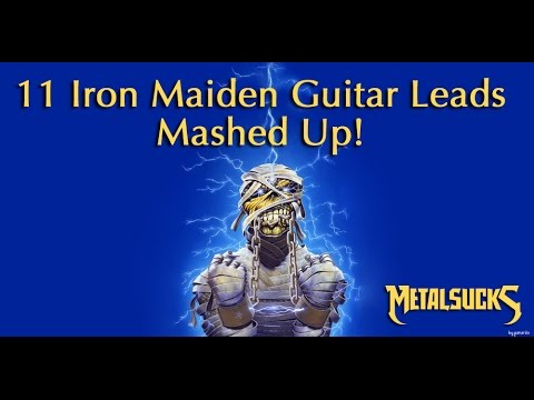 Eleven Iron Maiden Guitar Leads Medley | MetalSucks