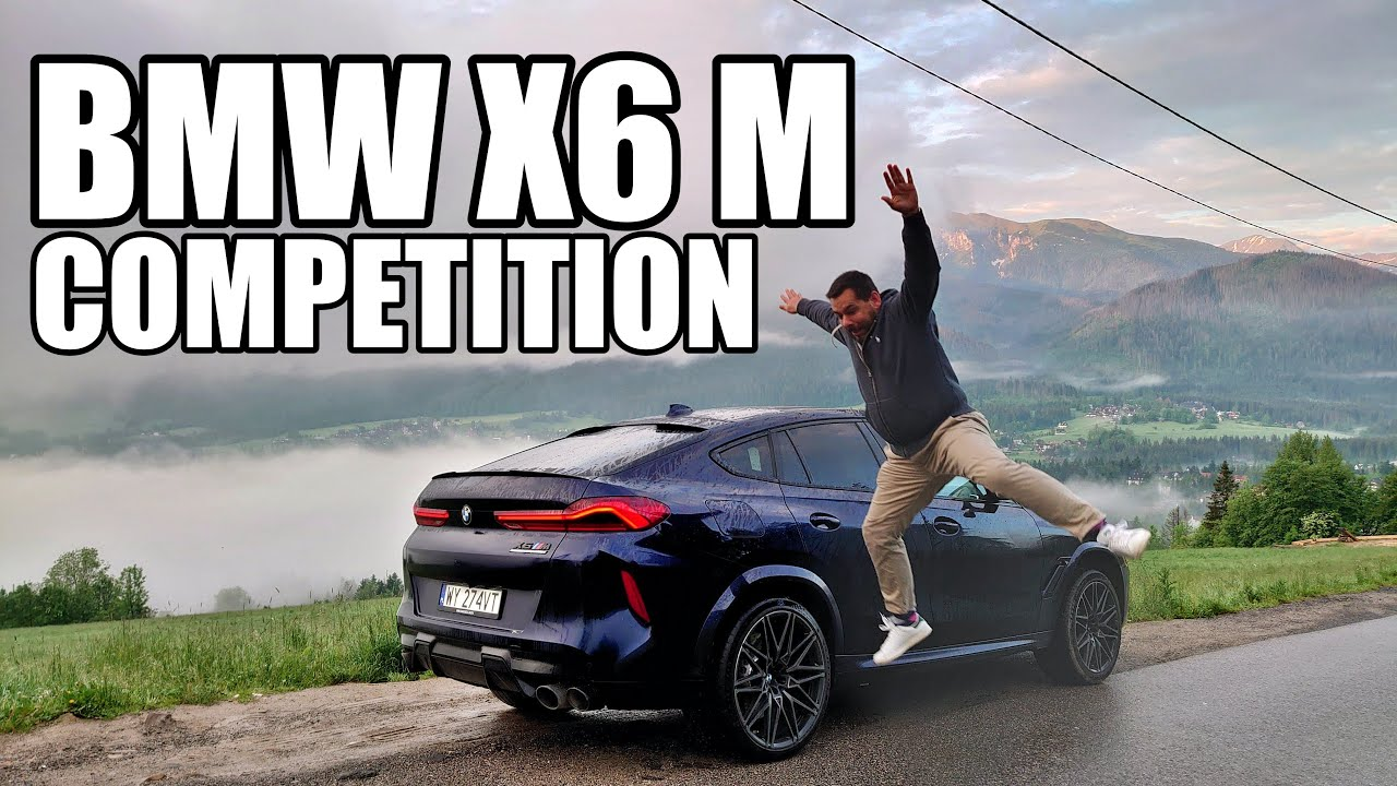 BMW X6 M Competition 2020 G06 (ENG) - Test Drive and Review