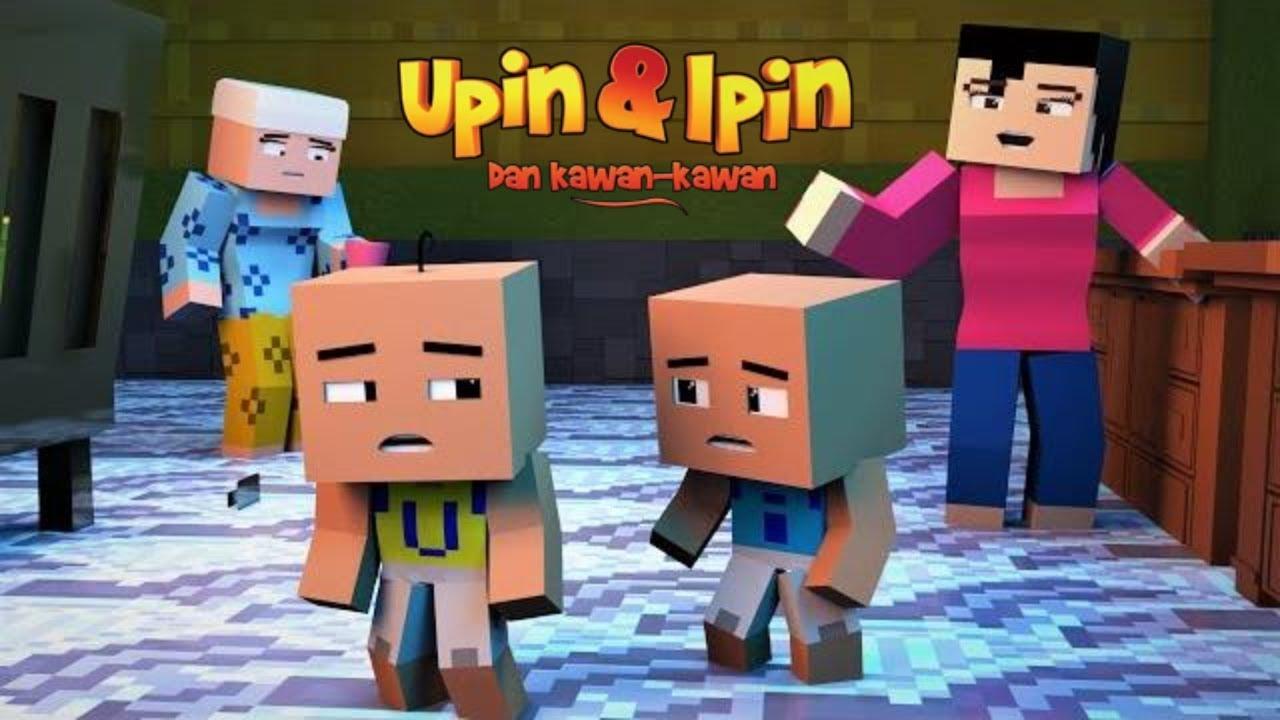 Upin & Ipin Musim 13 - Medal Larian 1 -3 ( Minecraft Animation )