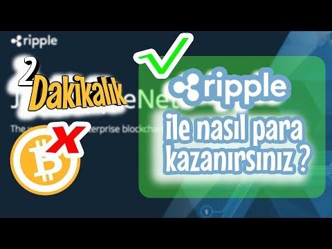 Türkiye'de Ripple ile Para Kazanmak | Dijital Para Dünyası