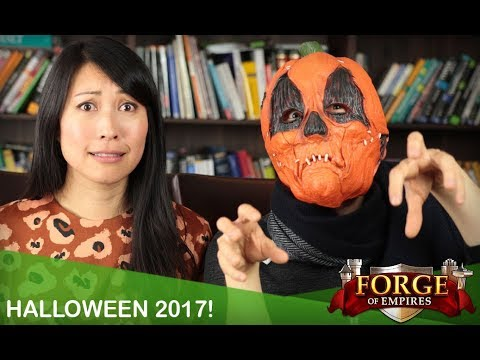 Forge of Empires - Halloween 2017 - YouTube