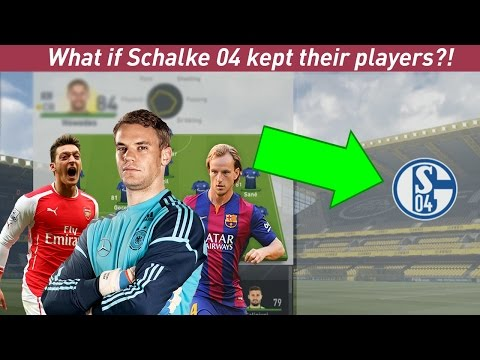 WHAT IF SCHALKE 04 KEPT THEIR PLAYERS?! - FIFA 17 EXPERIMENT - Race with FC Bayern!!
