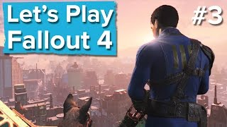 Let's Play Fallout 4 #3 - Live Xbox One gameplay