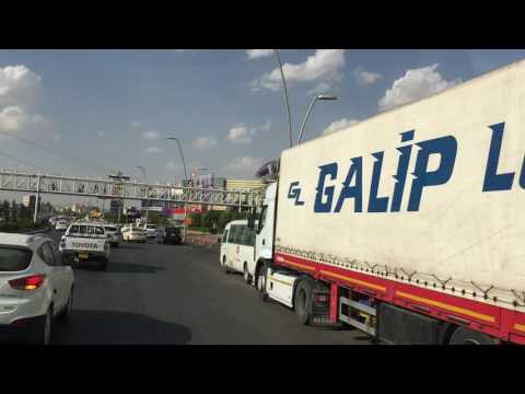 Driving Erbil