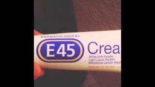 Response to Lummux's E45 review. E45 sucks. Worst cream ever. I'm pretty sure it gave me herpes.