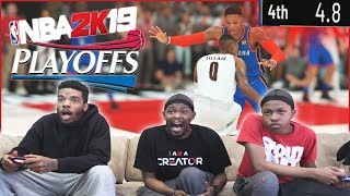 4.8 Seconds Left In The Game! Paul George For The Win! - NBA 2K19 Gameplay