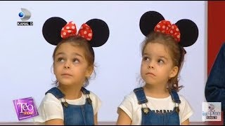 Teo Show (13.11.2018) - Mickey Mouse, pentru prima data la TEO! Cine a venit sa-l vada?