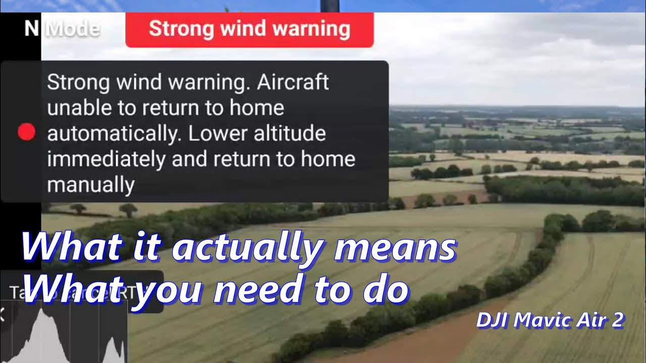 Air2 & Mini: RTH Strong Wind Warning - Can You Still Return to Home?
