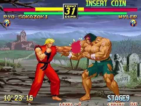 Art Of Fighting 3 The Path Of The Warrior Neo Geo Final Boss