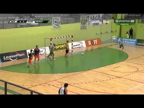 Futsal :: 11J :: Sporting - 10 x Unidos Pinheirense - 1 de 2014/2015