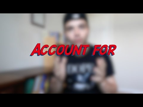 Account for - W13D1 - Daily Phrasal Verbs - Learn English online free video lessons