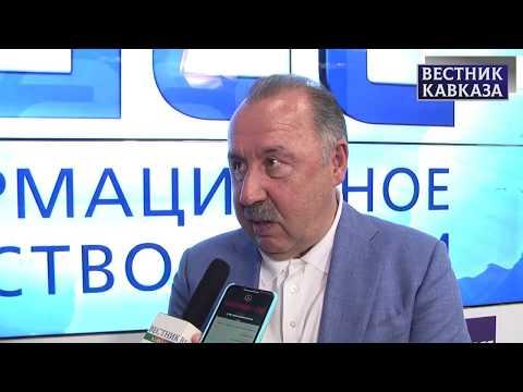 Валерий Газзаев: финал Лиги Европы в Баку стимулирует рост популярности футбола в стране