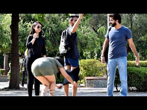 Hot Indian Girl Removing Pants in Public Prank | AVRprankTV (Pranks In India)