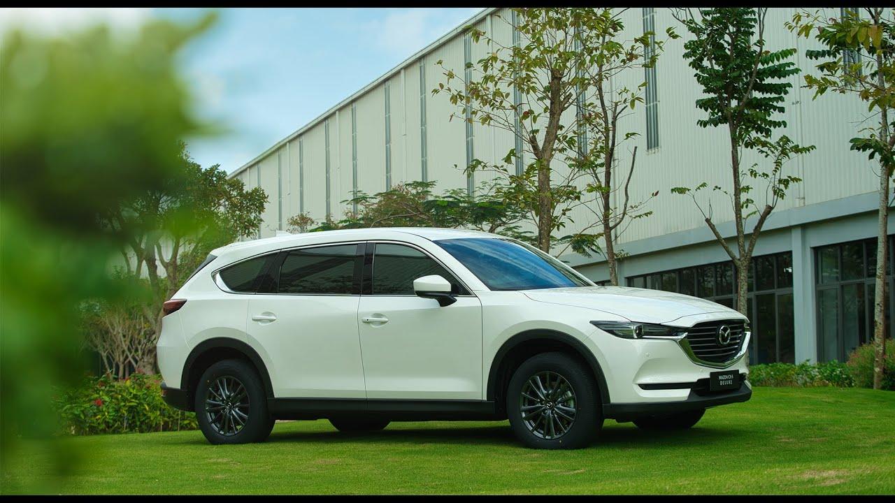 Mazda CX-8 Deluxe – SUV 7 chỗ đích thực dưới 1,1 tỷ đồng