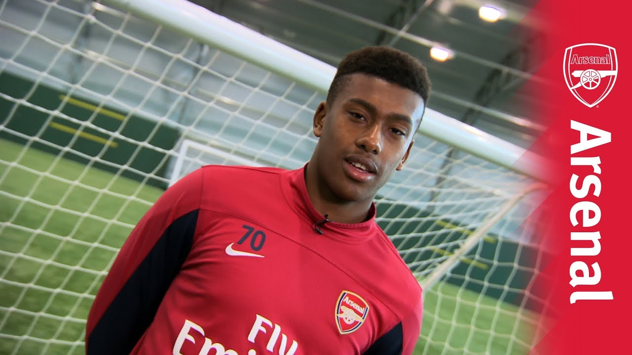 Arsenal: Introducing Alex Iwobi - YouTube