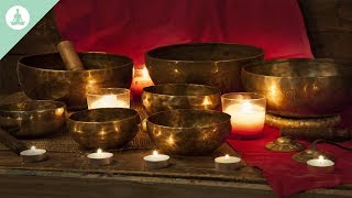 Tibetan Bowls for Meditation, Root Chakra Balancing & Healing, Relaxation