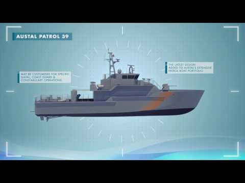 AUSTAL Patrol 39 metre - Maritime Patrol Vessel (MPV)