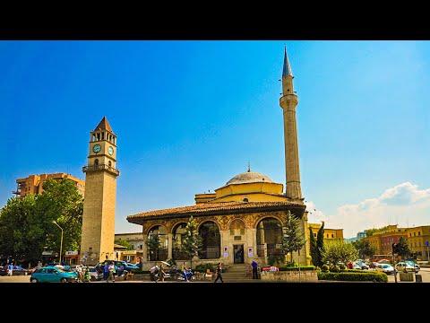 Albània - Tirana - Crida a l'oració (Athan) Mesquita d'Et'hem Bey