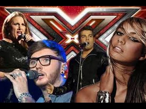 Winners of X Factor UK  ( 2004 - 2016 ) Best Auditions Compilation