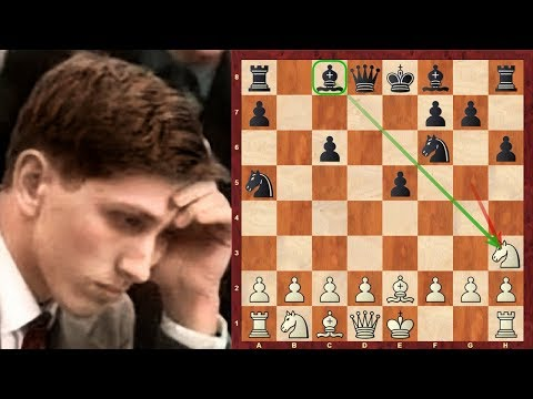Bobby Fischer vs Arthur Bisguier : Notable game (1963) :   Italian Game