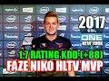 FaZe NIKO ESL NEW YORK 2017 HLTV MVP 1 70 KDD 88 150 KILLS