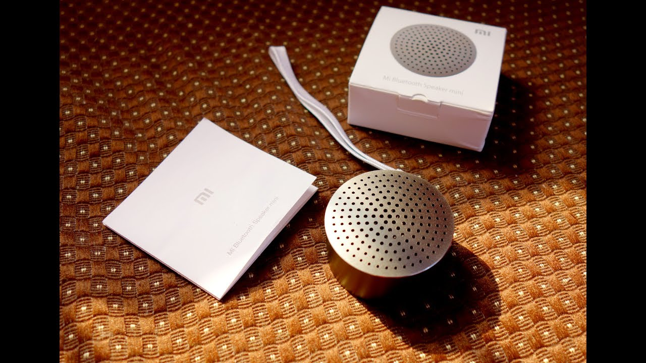 Xiaomi MI bluetooth portable speaker Mini Edition