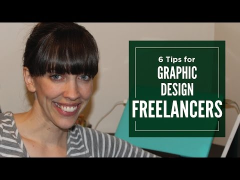 6 Tips for Graphic Design Freelancers - Graphic Design How to