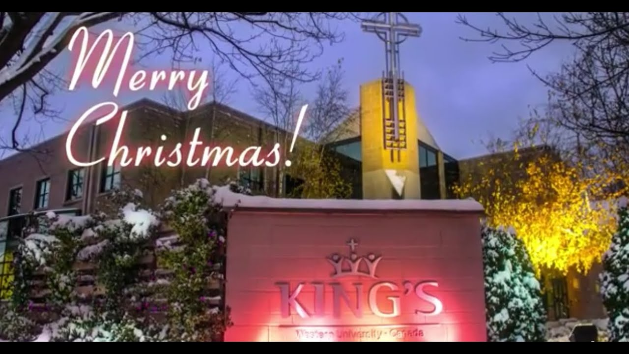 Merry Christmas from King's University College, London ...