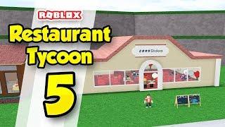 RESTAURANT TYCOON #5 - HUGE RESTAURANT (Roblox Restaurant Tycoon)
