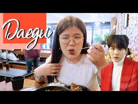 [ENG CC] เที่ยวแทกู เมืองที่ร้อนที่สุดในเกาหลี & ไปร้านชูก้า BTS ~ | jaysbabyfood