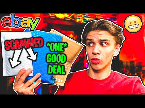 THIS is Why You SHOULDN'T Buy Pokemon Mystery Box Lots Off Ebay... (Scammed TWICE) OPENING PACKS |