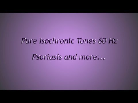 1 Hour - Psoriasis and more (Isochronic Tones 60 Hz) Pure Series