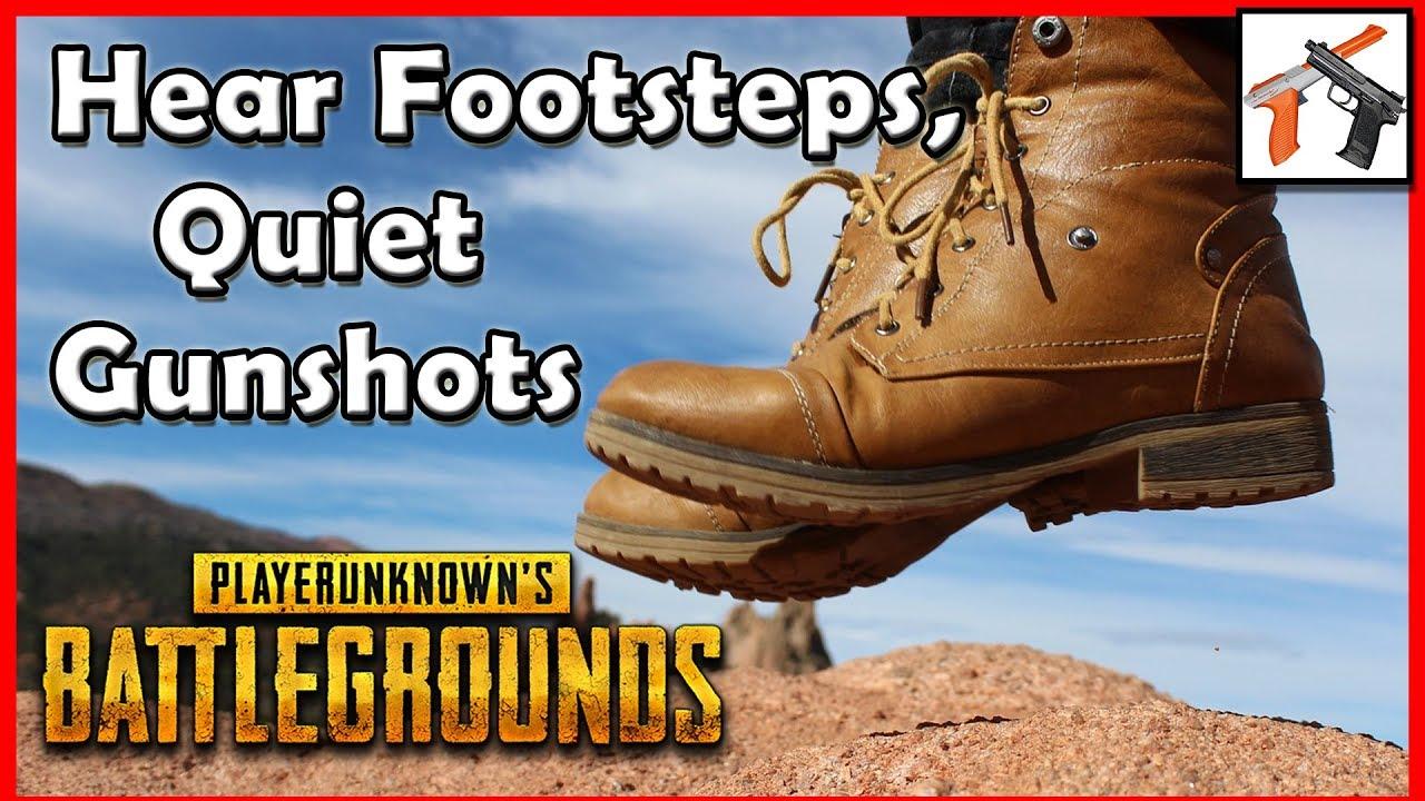 How To Quiet PUBG / Squad Gunshots & Explosions and Hear Footsteps -  Compressor Setup Tutorial