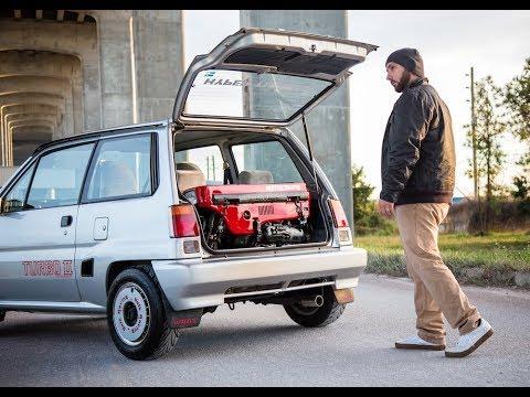 Honda City Turbo ii plus Motocompo Hot Wheels Custom