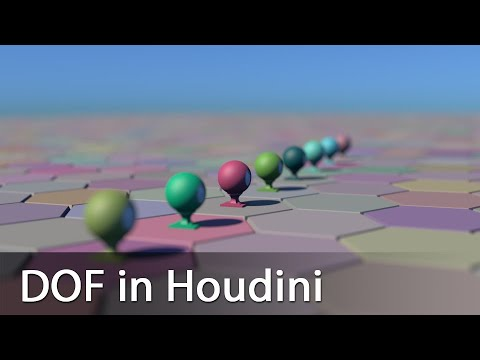 Depth of Field (DOF) in SideFX Houdini 17 5
