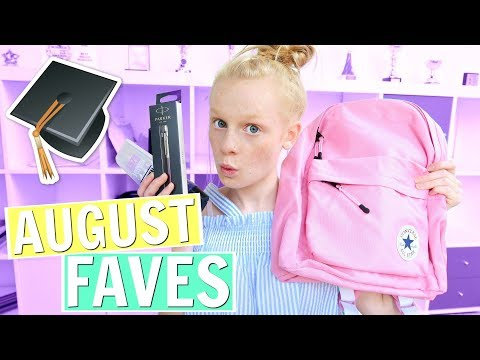 AUGUST FAVES 2017 🎒🎓 (back to school) ❤ Mia's Life ❤