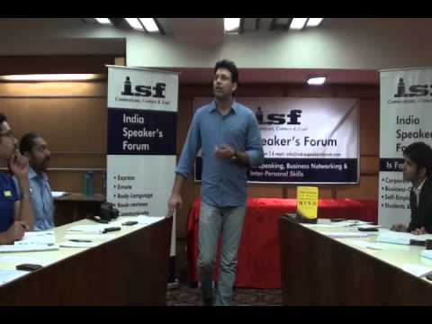 The Power of Gayatri Mantra- Mr. Ankit Bhola- India Speakers Forum- ISF