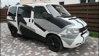 Оригинальный Volkswagen Multivan T4 / The original Volkswagen Multivan T4
