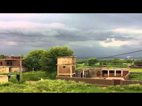 Cloudy Weather In Islamgarh mirpur azad kashmir pakistan part 2 Full HD