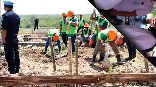 Kunjungan Kerja Menkumham RI dan Menteri PUPR di Pulau Nusakambangan