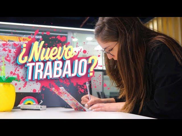 TRABAJANDO EN UNA OFICINA - Nath Campos