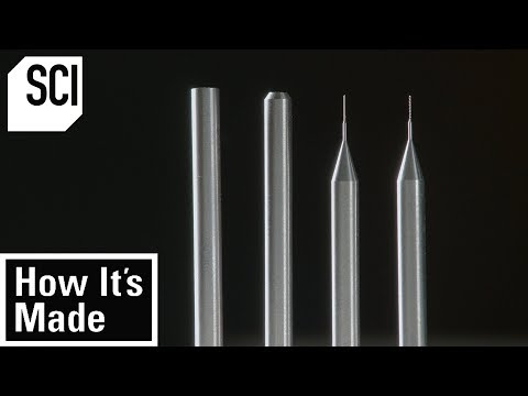 How Micro Drill Bits Are Made | How It's Made
