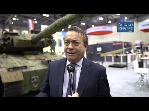 BAE's Signorelli On New Light Tank, Archer Wheeled Artillery, AMPV Update, Heavy Tank Concepts
