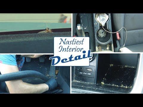 Cleaning The Dirtiest Car Interior Ever! Full Interior Detailing A Hyundai Elantra