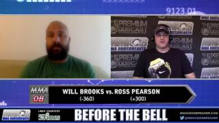 Before The Bell with Frank Trigg and Nick Kalikas - TUF 23 Finale