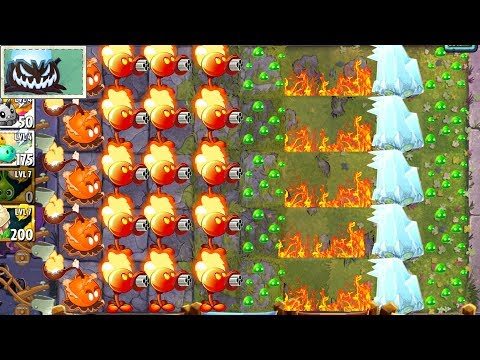 New Battlez Strategy Plants vs Zombies 2 Electric and Fire